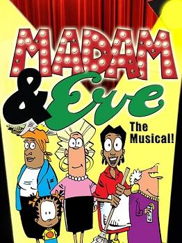Strip comic and Madam eve